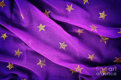 Photograph - Gold Stars Purple by Tim Gainey