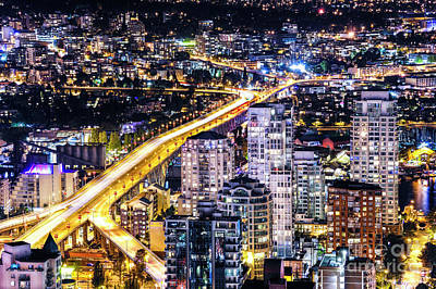 Golden Artery Vancouver British Columbia Canada Original