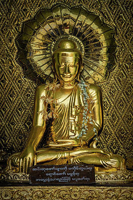 Photograph - Golden Buddha by Chris Lord