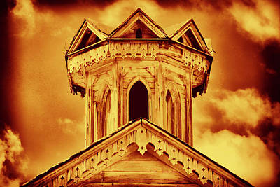 Photograph - Golden  Cupola by Paul W Faust - Impressions of Light