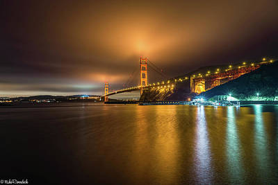 Photograph - Golden Gate Bridge by Mike Ronnebeck