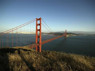 Painting - Golden Gate Bridge, San Francisco, California 4 by Celestial Images