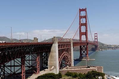 Painting - Golden Gate Bridge, San Francisco, California By Carol M. Highsmith 3 by Carol M Highsmith
