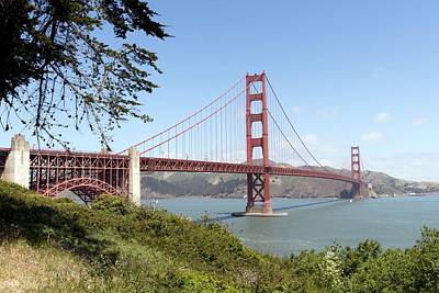Painting - Golden Gate Bridge, San Francisco, California By Carol M. Highsmith 5 by Carol M Highsmith
