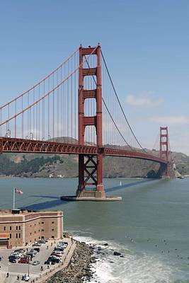 Painting - Golden Gate Bridge, San Francisco, California By Carol M. Highsmith 6 by Carol M Highsmith