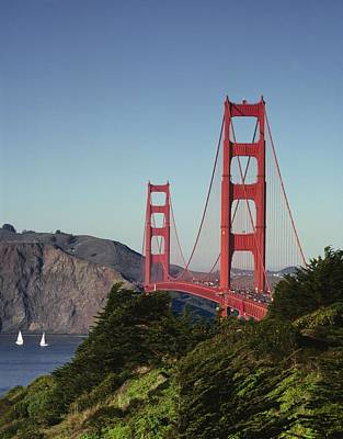 Painting - Golden Gate Bridge, San Francisco, California By Carol M. Highsmith 7 by Carol M Highsmith