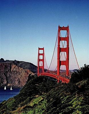 Painting - Golden Gate Bridge, San Francisco, California By Carol M. Highsmith 7b by Carol M Highsmith