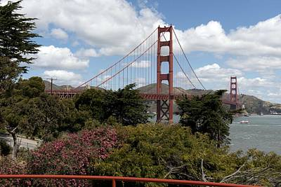 Painting - Golden Gate Bridge, San Francisco, California By Carol M. Highsmith 8 by Carol M Highsmith