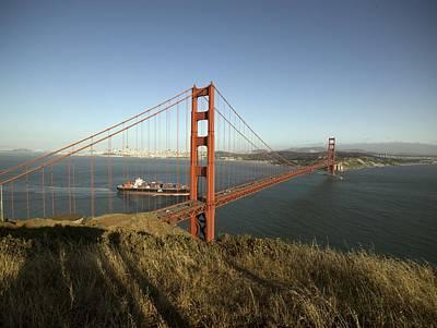 Painting - Golden Gate Bridge, San Francisco, California By Carol M. Highsmith by Carol M Highsmith