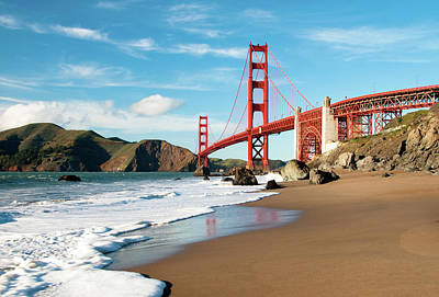 Photograph - Golden Gate Bridge, San Francisco by Can Balcioglu