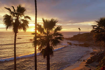 Photograph - Golden Hour Heisler Park by Cliff Wassmann