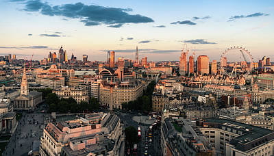 Photograph - Golden Hour London by Stewart Marsden