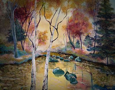 Painting - Golden Illumination by Sandra Day