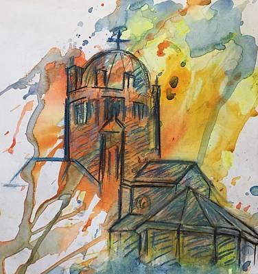 Wall Art - Mixed Media - Golden Memories by Elaine Marie