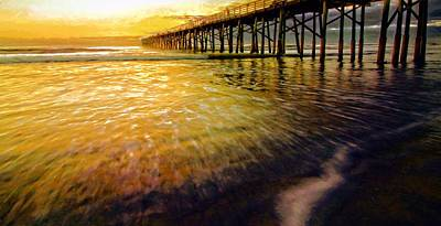 Photograph - Golden Moment by Alice Gipson