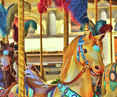 Mellow Yellow - Golden Pony Of Florence by JAMART Photography