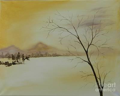 Painting - Golden Prairie by Judy Horan