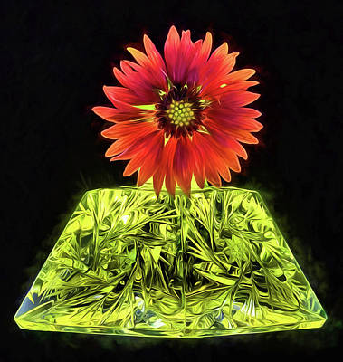 Photograph - Golden Pyramid Still Life by JC Findley