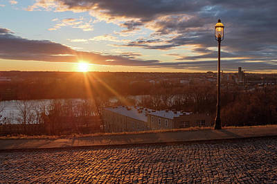 Photograph - Golden Rva Sunset At Libby Hill by Doug Ash