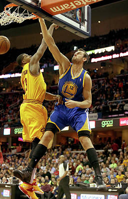 Photograph - Golden State Warriors V Cleveland by Mike Lawrie