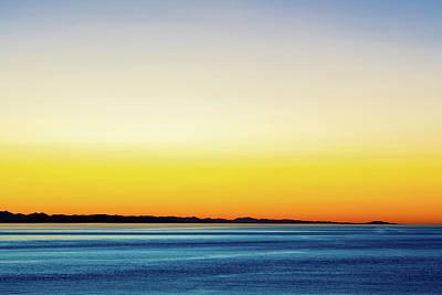 Photograph - Golden Sunset Series V by Debbie Ann Powell