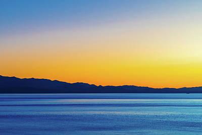 Photograph - Golden Sunset Series V I by Debbie Ann Powell