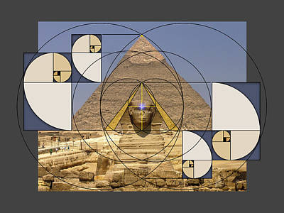 Digital Art -  Golden Template by Scott Onstott
