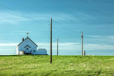 Photograph - Goldstone Lutheran Church by Todd Klassy