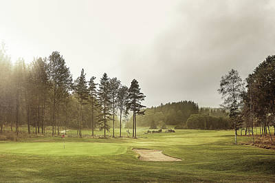 Photograph - Golf Course by Daniel Grizelj