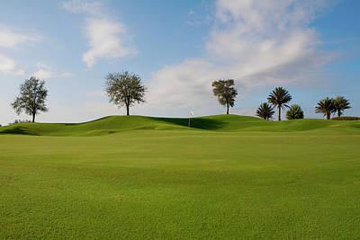 Photograph - Golf Course, Miami Beach, Florida, Usa by Glow Images, Inc