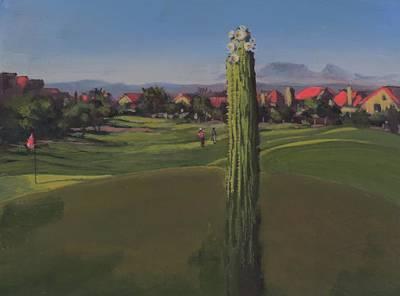 Golf Course Saguaro Original