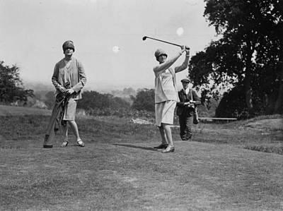 Photograph - Golf Fashion by Kirby
