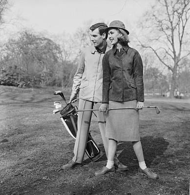 Photograph - Golfing Partners by Chaloner Woods