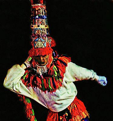 Photograph - Gombay Dancer by Bill Jonscher