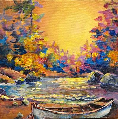 Painting - Gone Exploring by Bonny Roberts