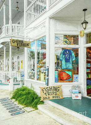 Photograph - Gone Fishin' In Key West by Mel Steinhauer