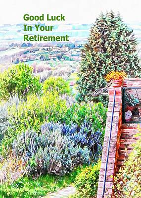 Mixed Media - Good Luck In Your Retirement by Dorothy Berry-Lound