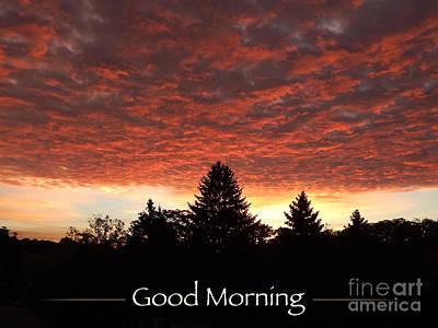 Digital Art - Good Morning by Phil Perkins