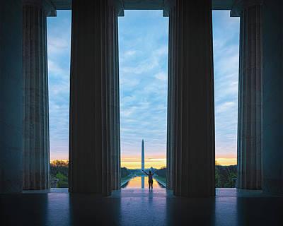 Photograph - Good Morning Wshington by Chris Lord