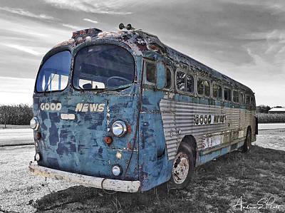 Photograph - Good News Still Travels by Andrea Platt