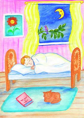 Painting - Good Night, Baby by Irina Dobrotsvet