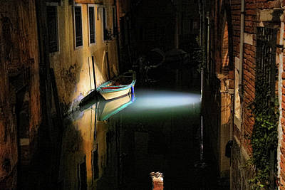 Photograph - Good Night Venice by Mary Buck