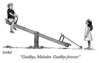 Drawing - Goodbye Forever by Will McPhail