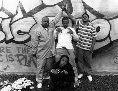 Photograph - Goodie Mob In Chicago by Raymond Boyd