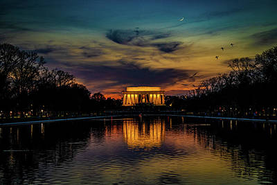 Photograph - Goodnight Washington by Chris Lord