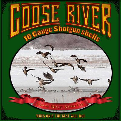Polaroid Camera - Goose River 10 Gauge Shotgun Shells by TL Mair