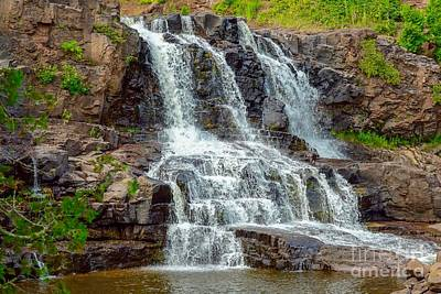 Photograph - Gooseberry Falls by Susan Rydberg