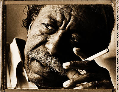Human Interest Photograph - Gordon Parks by George Rose
