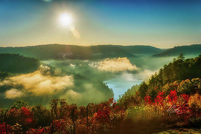 Photograph - Gorge Sunrise by Meta Gatschenberger