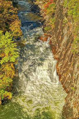 Photograph - Gorge Waterfall by Meta Gatschenberger
